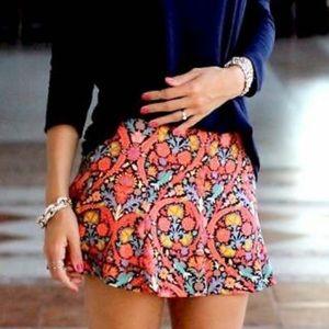 Zara Flare Mini Skirt